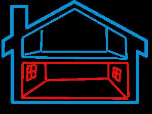 Schlaf- Wohn- und Arbeitszimmer